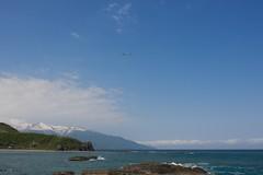海と狩場山