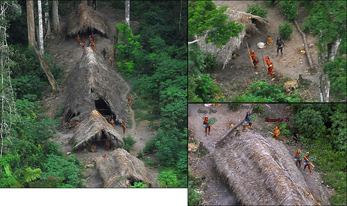 BBC:亞馬遜發現未知部落,並成功拍攝到照片 01