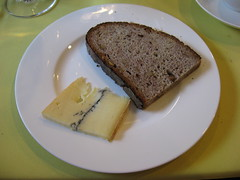 Pierre Hermé: Morbier cheese and bread