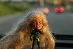 HBBW!!!  (Happy Barbie Bokeh Wednesday!)  OOP 156 (::cyndi::) Tags: bokeh barbie dashboard bokehwhore oneobject365daysproject happybokehwednesday