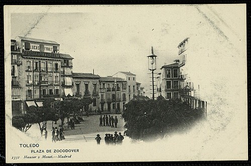 Plaza de Zocodover, Toledo.  Foto Hauser y Mene