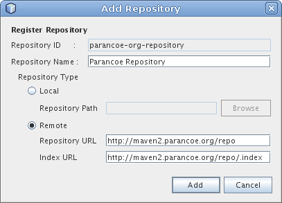 Add Parancoe Repository