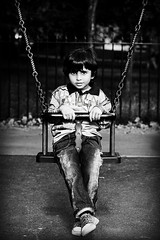 (A.A.A) Tags: park family blackandwhite white black love monochrome playground canon photography kid all child play photograph rights sh reserved bnw fahad aaa amna irresistible abdulaziz imissu althani hawaalrayyanfav
