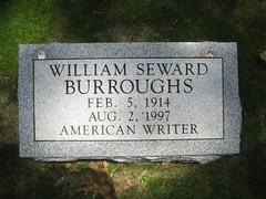 William Burroughs (Sheehan Family) Tags: cemetery grave stlouis writer author velvetunderground williamburroughs bellefontainecemetery lonesomecowboybill