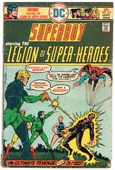 Legion of Super-Heroes 211 (Todd Wilson) Tags: comics superboy lsh legionofsuperheroes legionaires mikegrell
