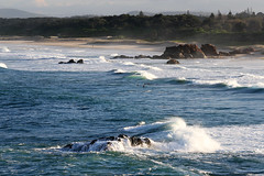 Lighthouse Beach (Geoff Main) Tags: sea seascape beach australia nsw portmacquarie canon30d tackingpoint canonef70200mmf4lisusm isawyoufirst