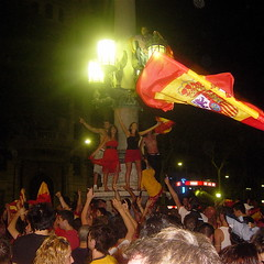 Spain wins the Euro 2008 title