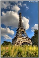 Eiffel Tower (Lars Tinner) Tags: paris france tower geotagged ledefrance eiffeltower eiffel eifel turm effelturm paris0726invalides wwwtinnersg geo:lon=2293597 geo:lat=48859546 httpwwwtinnersg tinnersg