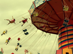 Flying High (MeganOnTheTrain) Tags: chicago kids pier flying high navy il flyinghigh photosharepodcastcom waveswingerwaveswingernavy