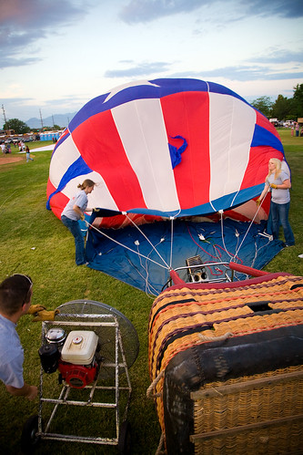 Photowalking Utah - Balloon Launch 1