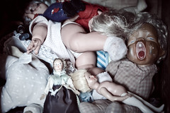 Coming of age (andrea francesco) Tags: sardegna scary dolls sardinia creepy tiana olddolls crescere andreafrancescoberni beforebarbie prebarbie