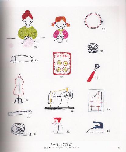 Embroidery one-point stitch hajimete no shishiyuu wampointo sutetsuchi 500 wan pointo asahi orijinaru ASAHI ORIGINAL ISBN 9784021904097 img 1
