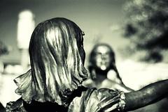 Ring Around The Rosie (swilton) Tags: statue utah unitedstates bokeh saltlakecity templesquare lds 50mm18seriese nikond40x photofaceoffwinner pfosilver