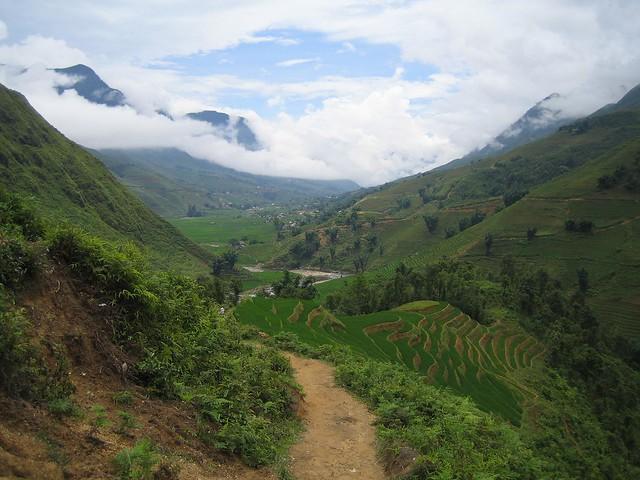 Sapa valley view