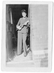...george hovord (the3robbers) Tags: family 1932 ukulele grandfather archive doorway barry oldphotos valeofglamorgan repaired the3robbers 34bellstreet
