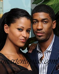the claudia jordan show ...special guest  Fonzworth Bentley