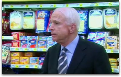 McCain in the Cheese Aisle