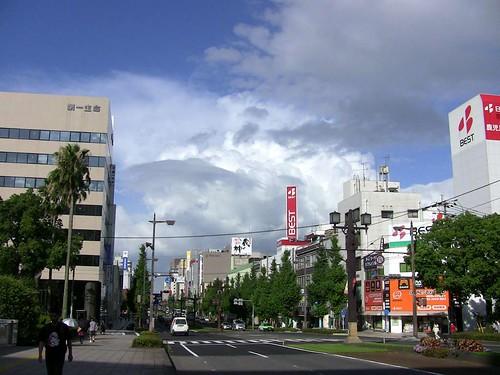 Living under vulcano, Kagoshima