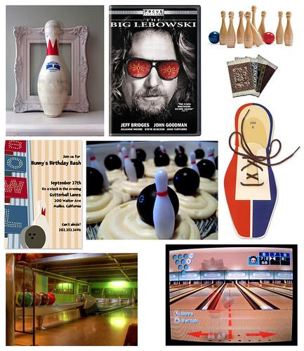 Bowling Party Lebowski Style