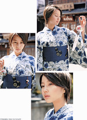 YUKATA  Maki Horikita (g2slp) Tags: summer japan yukata japanesegirl   makihorikita