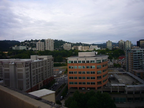 Atop Marquam Bridge