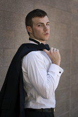 GQ Groom (CharlotWest) Tags: wedding man sexy groom photographer jacket