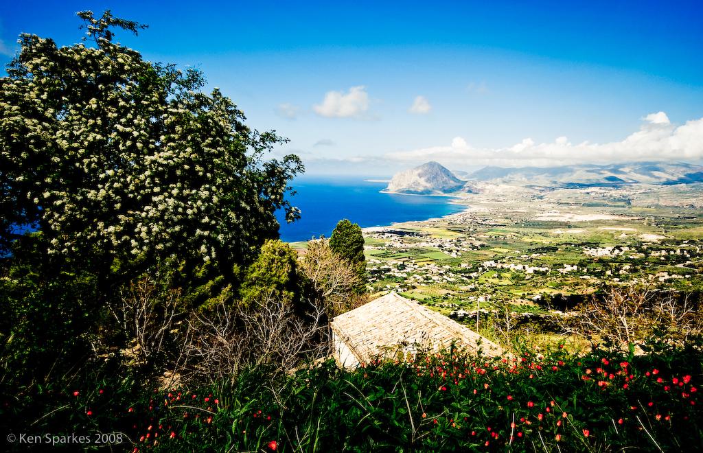 Erice, near Trapani, Sicily