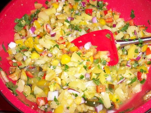 Yellow Pico de Gallo