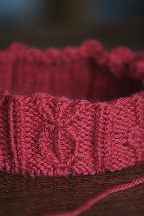Bavarian Twisted Stitch Hat