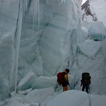 Into the icefall
