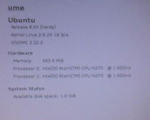 Insipiron 910 Ubuntu