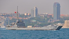 Turkish Navy Edic-class utility landing ship C-126, Bosphorus, Istanbul, Turkey, 23 August 2008 (Ivan S. Abrams) Tags: coastguard turkey boats nikon mediterranean ataturk ships istanbul yachts nautical motorboats nikkor fishingboats shipping tugs lakers landingcraft ports nikondigital blacksea gallipoli ferries harbors watercraft bosphorus tugboats vessels freighters tankers cruiseships lst lcm smrgsbord warships bogaz destroyers ferryboats navyships smallboats speedboats frigates internationaltrade seaofmarmara navies containerships portcities navalships oceanliners navalcraft nikonprofessional chokepoints onlythebestare turkishnavy ivansabrams trainplanepro feribots nikond300 internationalshipping sealanes ivanabrams servicecraft landingships amphibiouswarfare ampibiousships oceancommerce boxcarriers internationalcommerce maritimecommerce seaportsseaportmaritime crossroadsasiaeuropebosforbogazasia minorboxesintermodal tugobats copyrightivansafyanabrams2009allrightsreservedunauthorizeduseprohibitedbylawpropertyofivansafyanabrams unauthorizeduseconstitutestheft thisphotographwasmadebyivansafyanabramswhoretainsallrightstheretoc2009ivansafyanabrams
