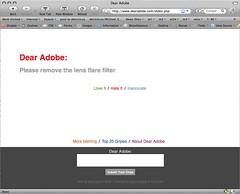 dear adobe