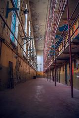 Prisoner's Perspective (crashmattb) Tags: abandoned nashville state decay tennessee prison urbanexploration jail tennesseestateprison canoneosdigitalrebelxti platinumphoto anawesomeshot sigma1770mmf2845dc