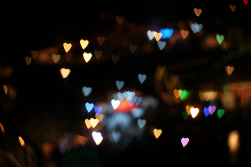 DIYBokeh love