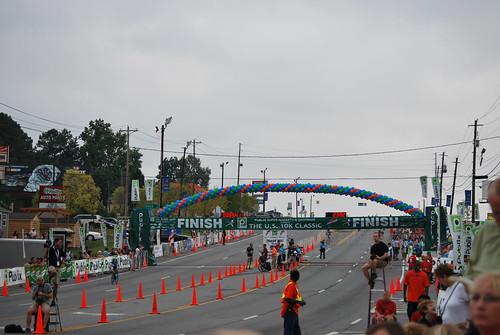 10k 5-finish line