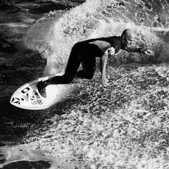 steamer bw (Diego Tabango) Tags: ocean california blackandwhite santacruz beach nikon action surfing apo steamerlane teleconverter d300 sigma70200
