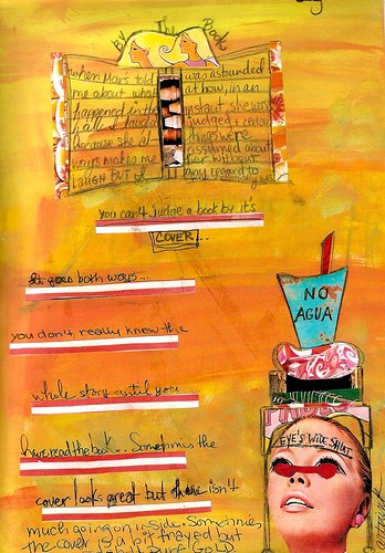 collage challenge:journal page