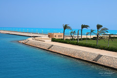 Blue Sky and water!-Marina! (Atef A. Iskander) Tags: marina marinaresort portomarina paradiseofthenorthcoast marinaelalamein egypt northcoast aplusphoto heartawards flickrhearts canoneosdigitalrebelxti canonef28135mmf3556isusm atefiskander2008 atefiskander2008 atef iskander 2008 nature bluesky naturalblueseawater maxiemtongue marinabeach flickrestrellas excapture colorphotoaward marinatrip