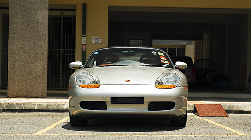 Porsche Boxster 986 2.5 liter flat 6 cylinder by Mohamad Faizal Omar