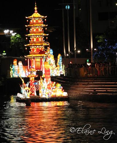 Floating Pagoda,Singapore