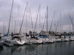 Boats at the dock (Chinatown, California, United States) Photo