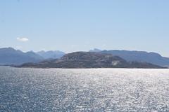IMG_1123 (NoirinP) Tags: blue sea sky sun norway landscape arctic fjords midnightsun northcape