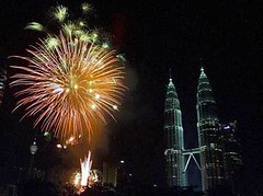 Towers in the Background (EpicFireworks) Tags: stars fireworks guyfawkes firework burst pyro 13g epic pyrotechnics