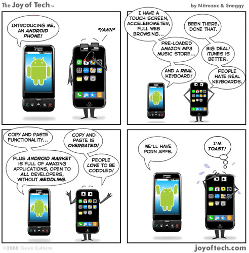 Android Phone vs. iPhone par Steph_Muc