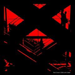 Red Cross (Heaven`s Gate (John)) Tags: china red black silhouette hongkong escalator chinese creative dramatic imagination thepeak redcross 500x500 bronly johndalkin heavensgatejohn top20red