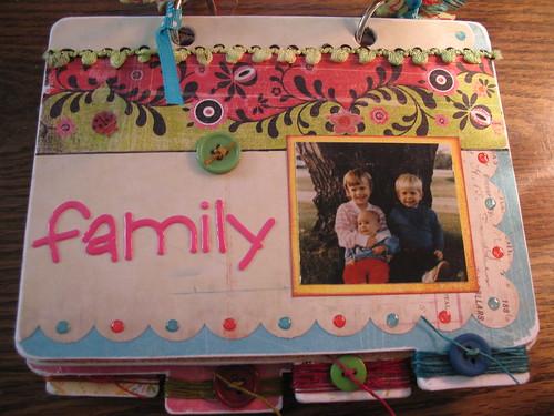 Family mini album