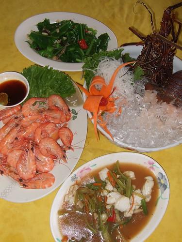 唐妮可☆吃喝玩樂過生活 拍攝的 20080502_鹽寮(055龍蝦海鮮餐廳)_07。