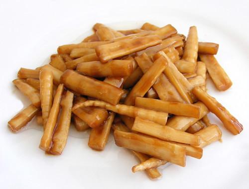 stir-fried bamboo tips