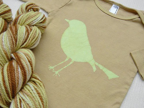 Winter Bird Yarn and Tee Set